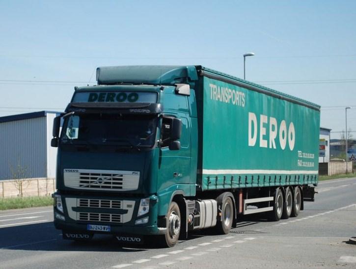 Deroo (Wizernes)(62) (groupe Paprec) Volvo563