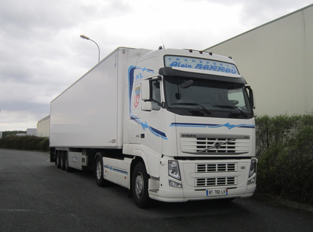 Transports Alain Barrau (Villematier 31) Volvo703