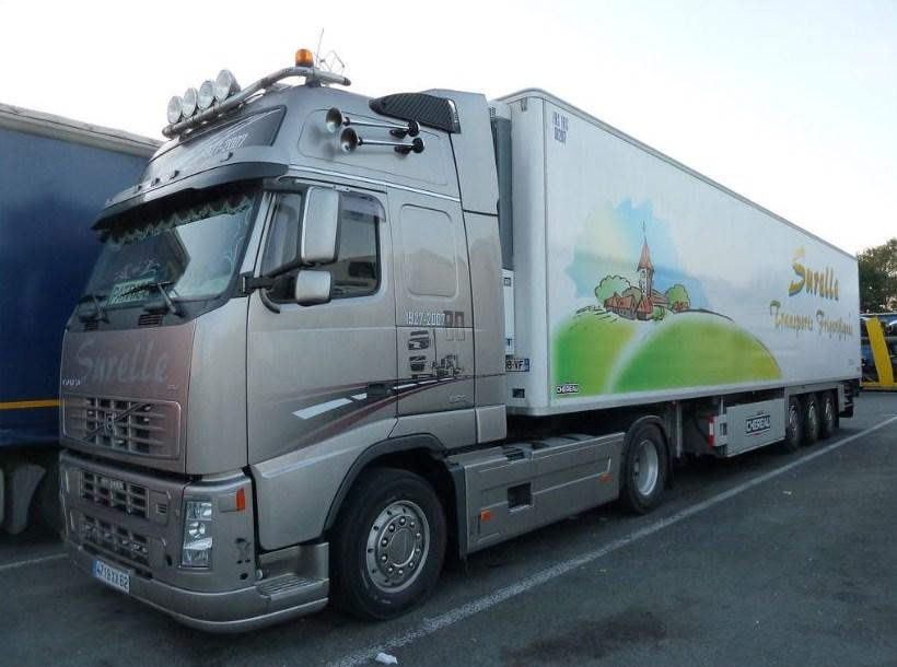 Surelle Transports Frigorifiques ( STF/PAF)( Sains les Pernes 62) Volvo971
