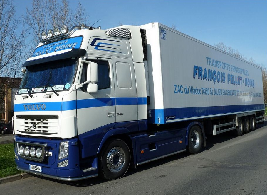 François Pellet Moine (Saint Julien en Genevois, 74) Volvo975