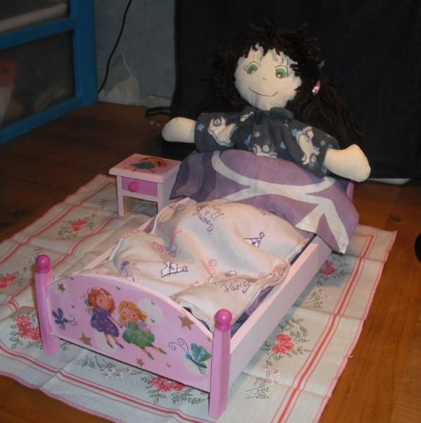 maison de poupée Lit_et10