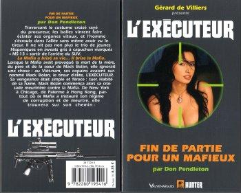 executeur - Fin de partie pour un mafieux (l'Exécuteur T292) de Don Pendleton 2054_110