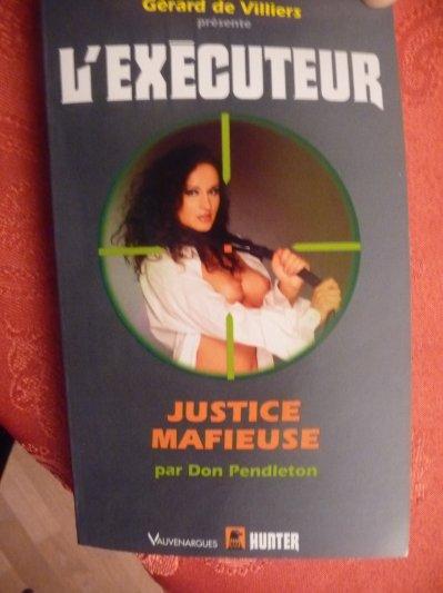 executeur - Justice Mafieuse (l'Exécuteur T268)-Don Pendleton 27776110