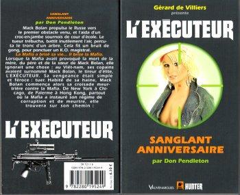 executeur - Sanglant Anniversaire (l'Exécuteur T275) -Don Pendleton 29099210