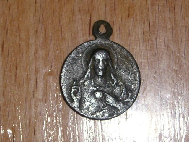 medaille Notre Dame du Mont Carmel ( Notre Dame du Scapulaire ) Jeu17m10