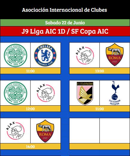 [AICv21] Horarios Final de Liga AIC & Copa AIC [AICv21] Horari40