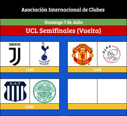 [AICv21] Horarios Semifinales IDA & VUELTA UCL/UEL & Final Copa AIC [AICv21] Horari46