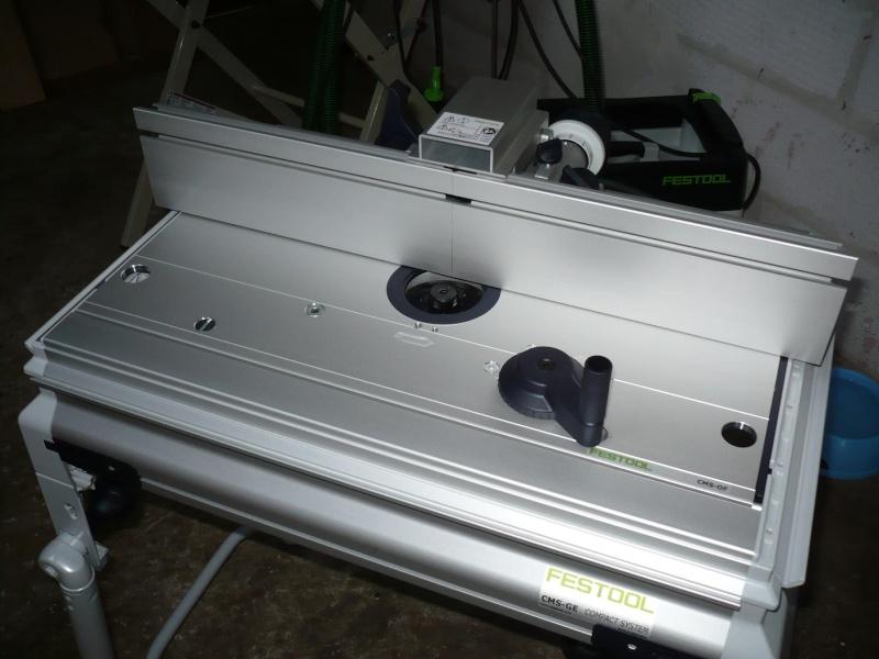 présentation table de défonceuse festool CMS P1030055