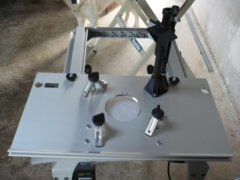 présentation table de défonceuse festool CMS P1030057