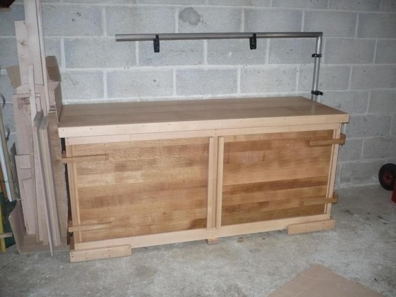 fabrication de mon établi en hêtre - Page 5 P1030240