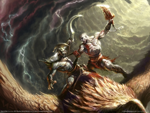 نفراد تاام : لعبة الاكشن الخرافية God Of War 2 نسخة FullRip بمساحة 7.44 جيجا على اكثر من سيرفر فرصة لا تعوض 10041011
