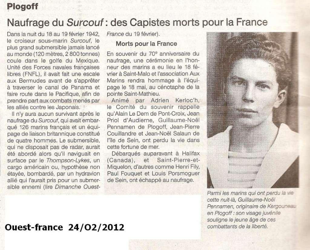 [ Divers - Les classiques ] LE CROISEUR SOUS-MARIN SURCOUF - Page 3 Numari60