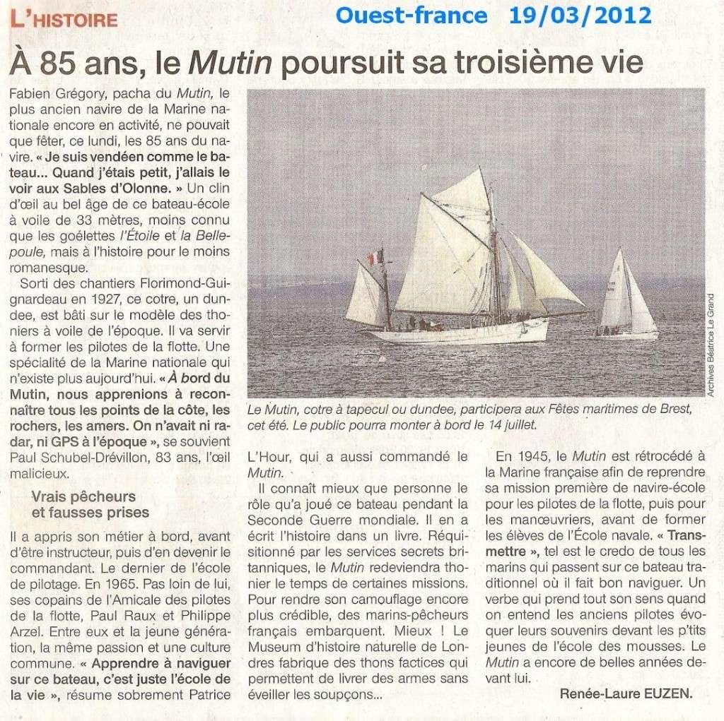 LE MUTIN (BE) - Page 4 Numari81