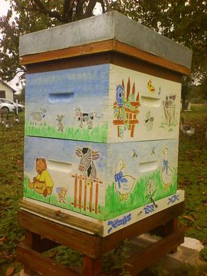 décoration de ruches Ruche-10
