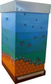 décoration de ruches Ruches11