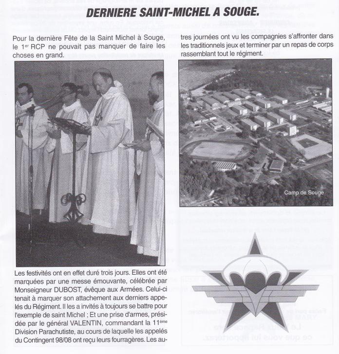 1er RCP 1998 - derniére Saint Michel au camp de SOUGE 1998_d10