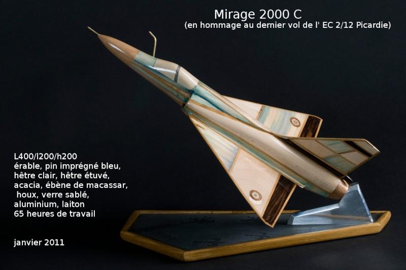 Sculptures d'Aéronefs M2000b10