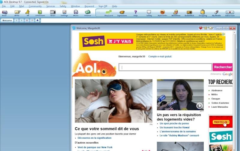 FRANCAIS TÉLÉCHARGER 9.6 AOL GRATUIT DESKTOP