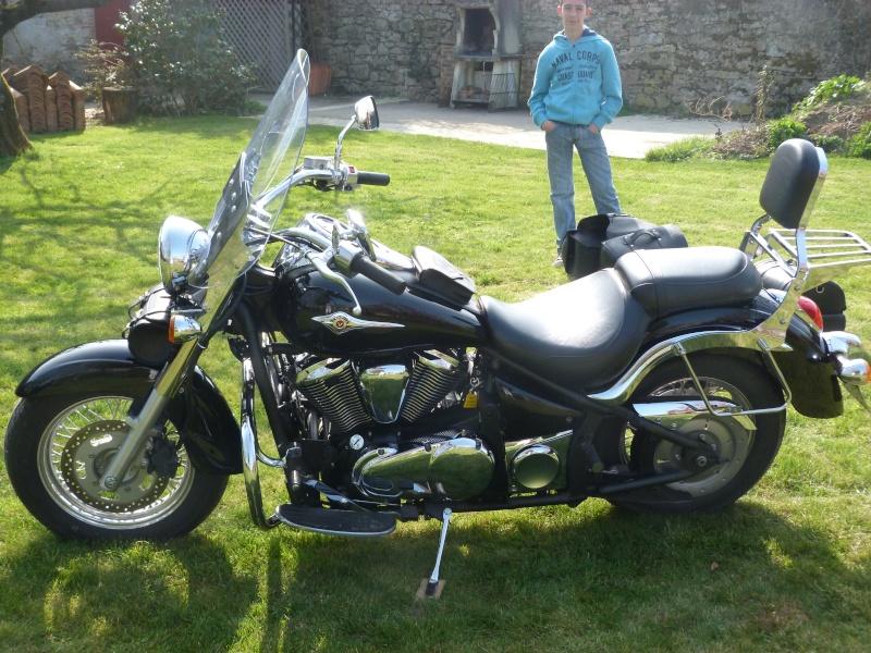 ma nouvelle moto P1020215