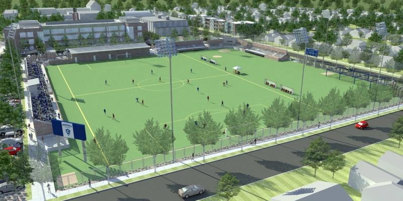 River Campus--Baseball Stadium updates Concor10
