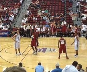 Luke on Timberwolves Roster in Las Vegas Luke10