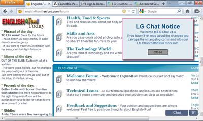 LG Chatbox - Question E4fcha11