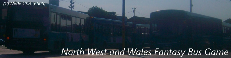 North West and Wales Fantasy Bus Game