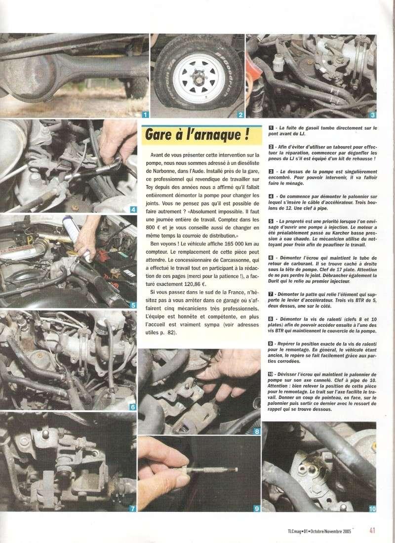 [Résolu] Article Magazine TLC sur changement de joints de PI sur LJ70 Numari11