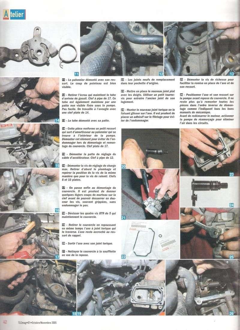 [Résolu] Article Magazine TLC sur changement de joints de PI sur LJ70 Numari12