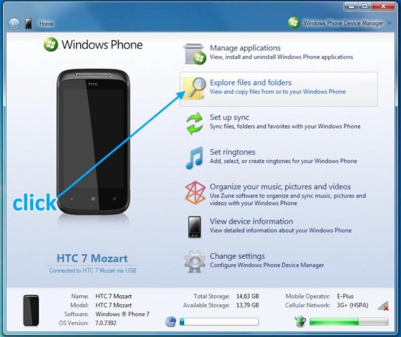 [Astuce] BackUp / Restore SMS sur WP7 110