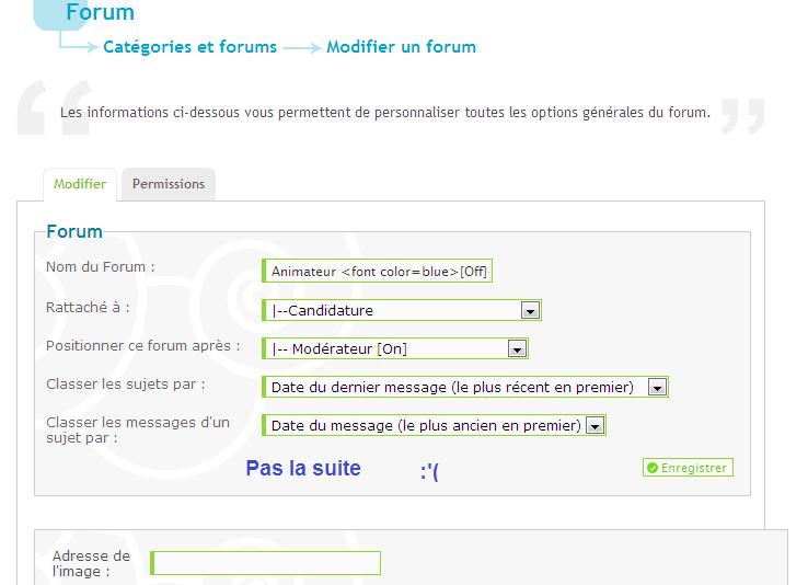 Couleur des titres des forums, création de sous-forums et verrouillage d'un forum Je_kif10