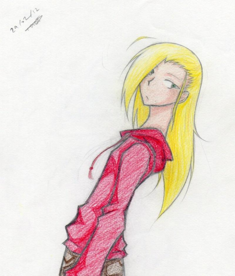 Parce qu'une baka, ça sait tenir un crayon ~  41688711