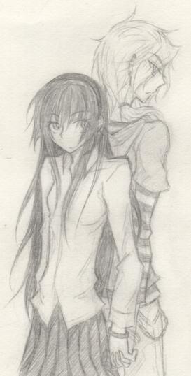Parce qu'une baka, ça sait tenir un crayon ~  Cloud_10