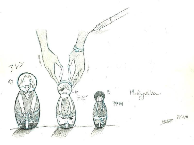 Parce qu'une baka, ça sait tenir un crayon ~  Matryo11