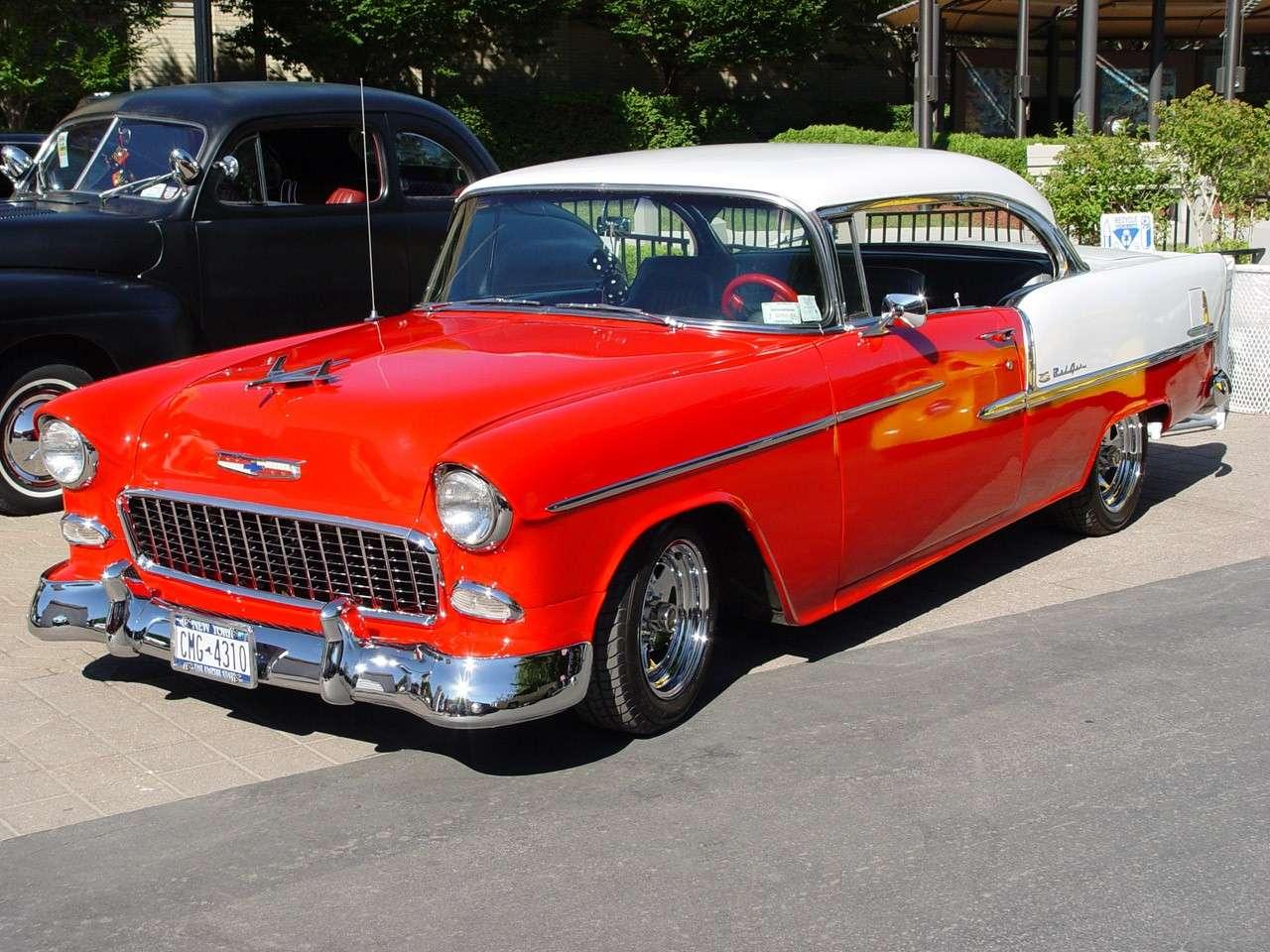 les belles photos de Chevrolet... juste pour rêver un peu 1955-c10