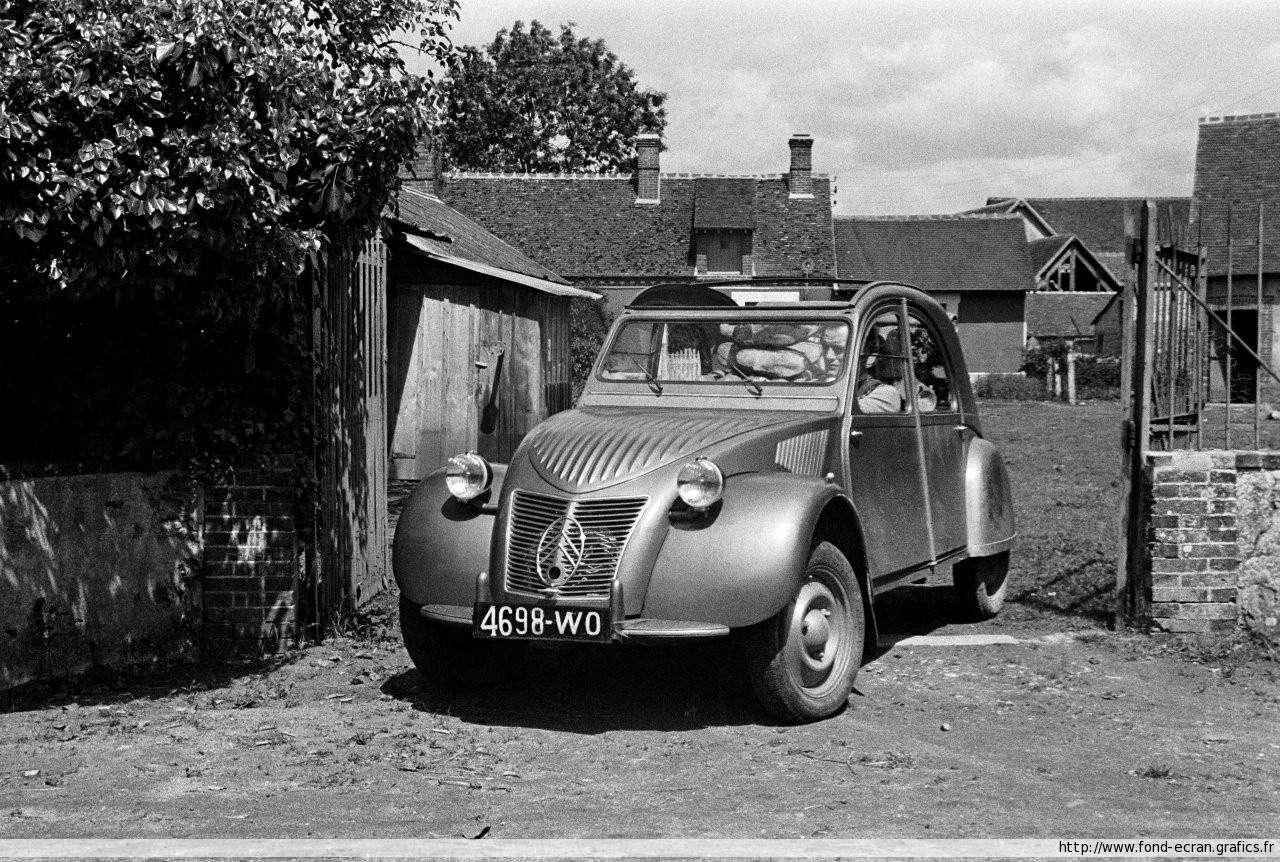 belles photos de Citroën 2 cv... juste pour le plaisir de rêver Citroe13