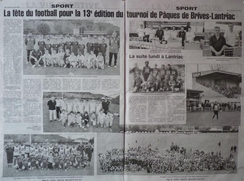 14e Tournoi national U11-U13 - Paques 2012 Brives Lantriac Presse13