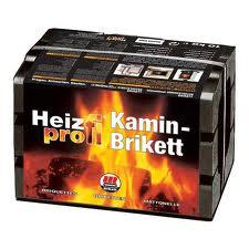 Essais de combustibles pour cheminée. Lignit10
