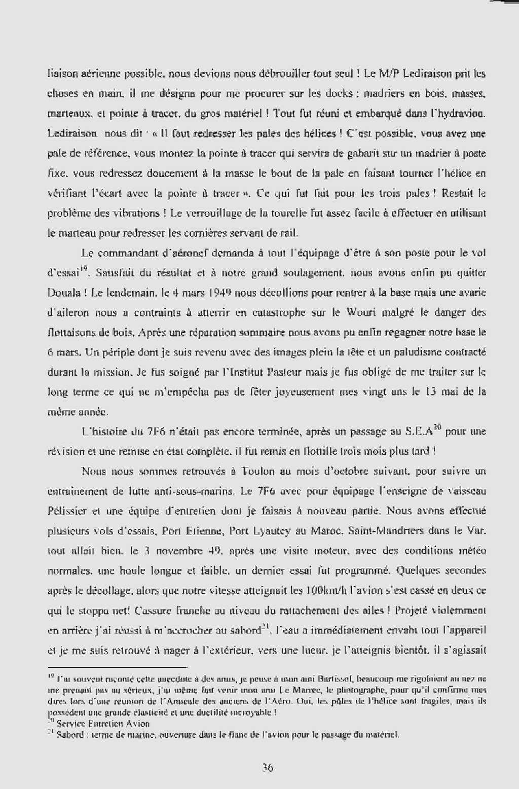 """[Les anciens avions de l'aéro] Hydravion SHORT """"SUNDERLAND"""" Dakar_10"""
