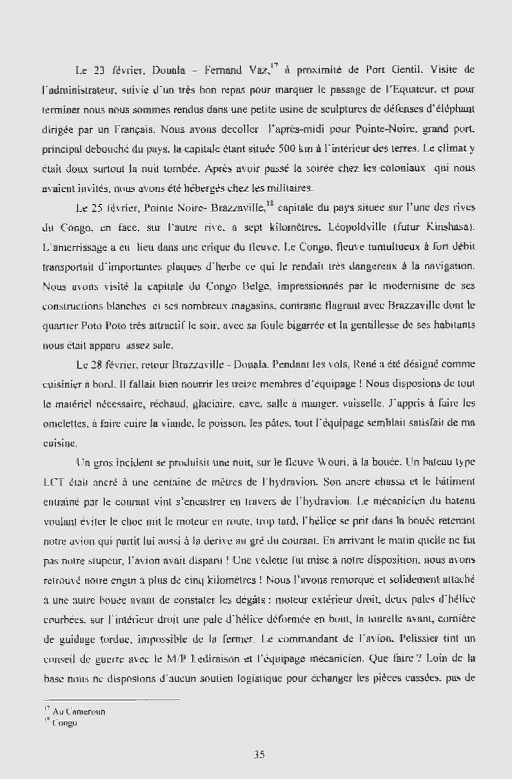 """[Les anciens avions de l'aéro] Hydravion SHORT """"SUNDERLAND"""" Dakar_11"""