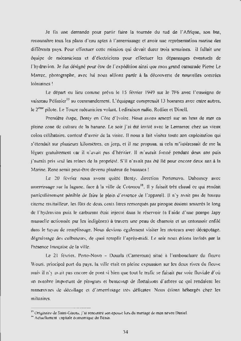 """[Les anciens avions de l'aéro] Hydravion SHORT """"SUNDERLAND"""" Dakar_13"""