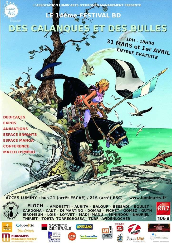 Festival BD Marseille Affich10
