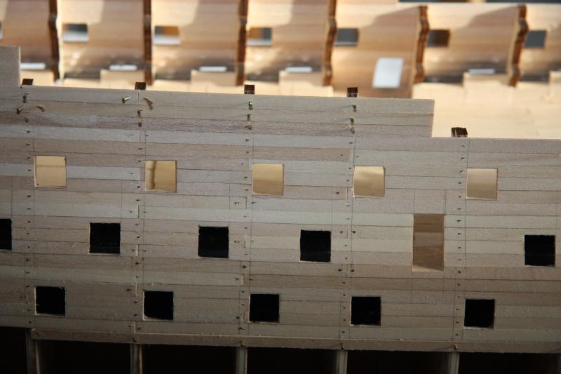 Martin Baubericht Victory aus Holz 1:84 1010