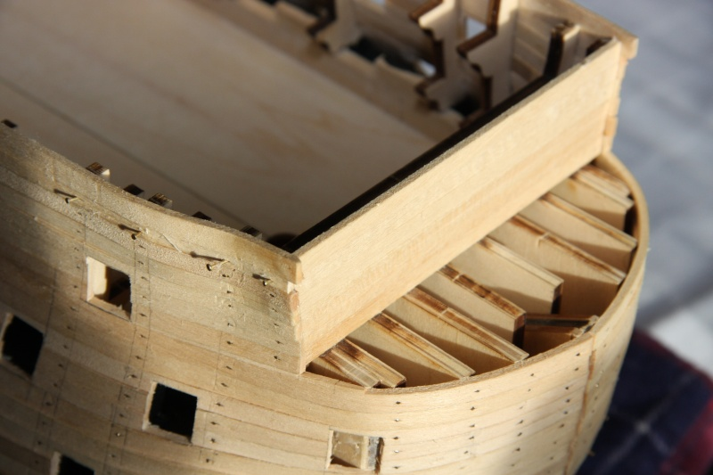 Martin Baubericht Victory aus Holz 1:84 1310