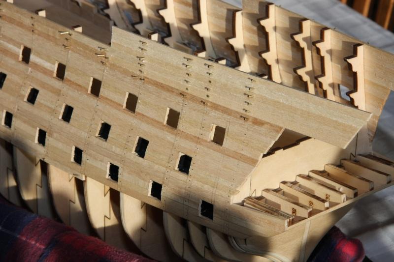 Martin Baubericht Victory aus Holz 1:84 1710