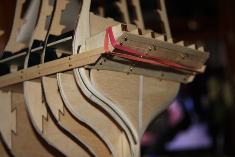 Martin Baubericht Victory aus Holz 1:84 510