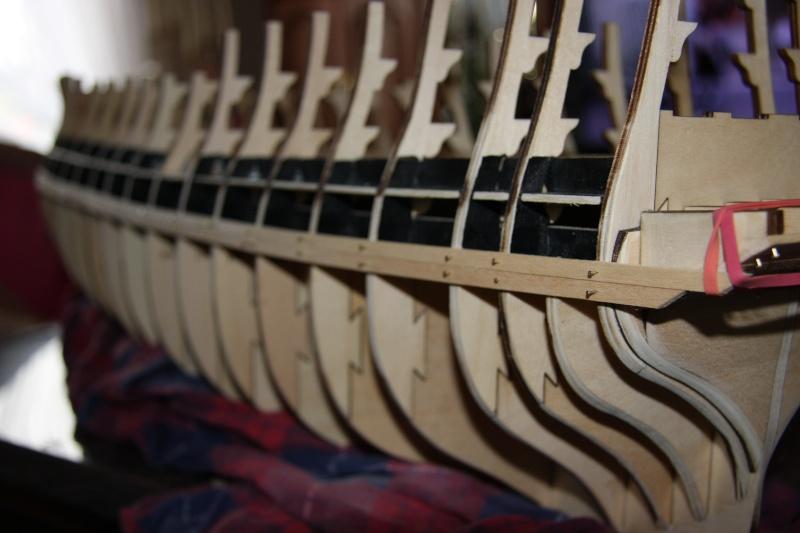 Martin Baubericht Victory aus Holz 1:84 610