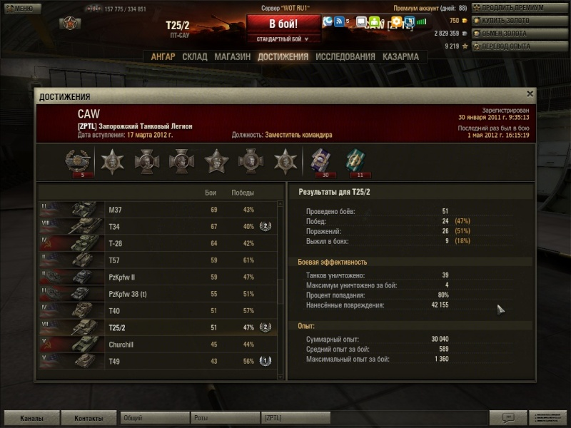 Рекорды Запорожского Танкового Легиона - Страница 3 Shot_040