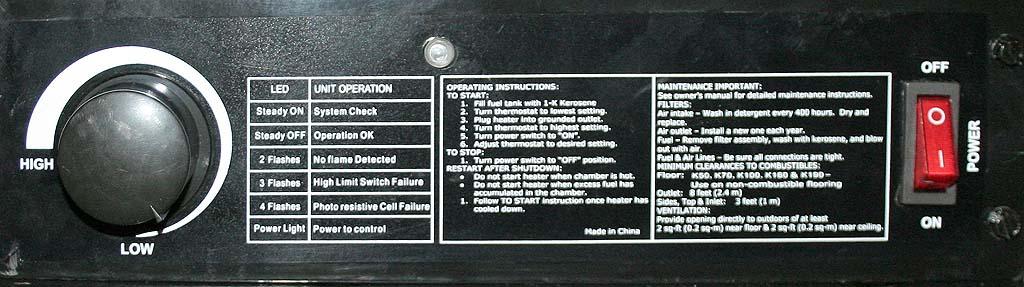 [Chauffage] Canon à chaleur KIAM Eco 70. 710
