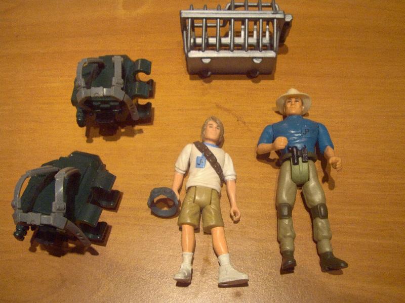 Cerco action figures e dinosauri Jurassic park Dsc07010